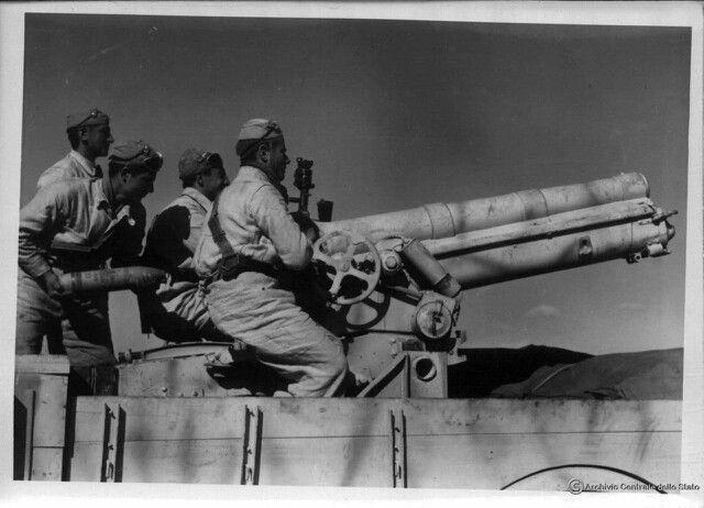 North Africa, Italian Army Ww2, Italian Artillery, Artillery North