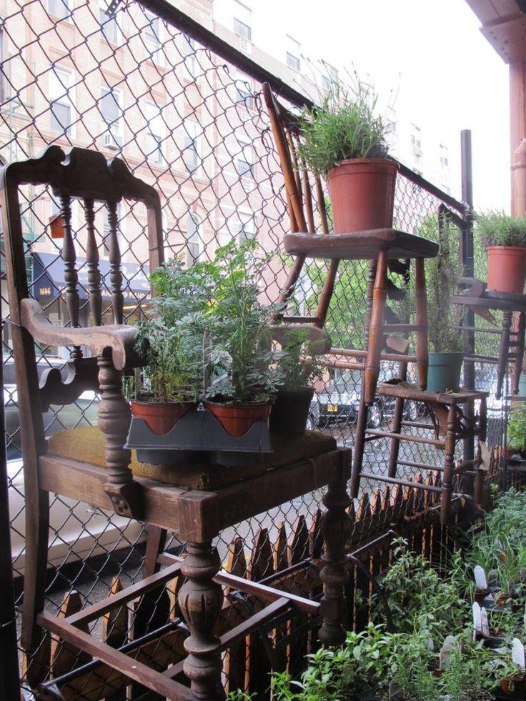 Urban Garden Center chairs on chainlink 768x1024 Field Trip: Urban Garden Center NYC