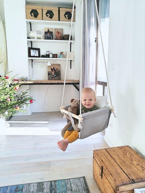 Baby Peuter Schommel.Beste Baby Peuter Stof Schommel Voor Binnen Buiten Baby In 2019