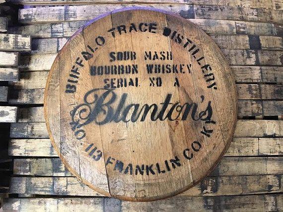 Authentic Blanton's Bourbon Barrel Head by BlantonsBourbonShop