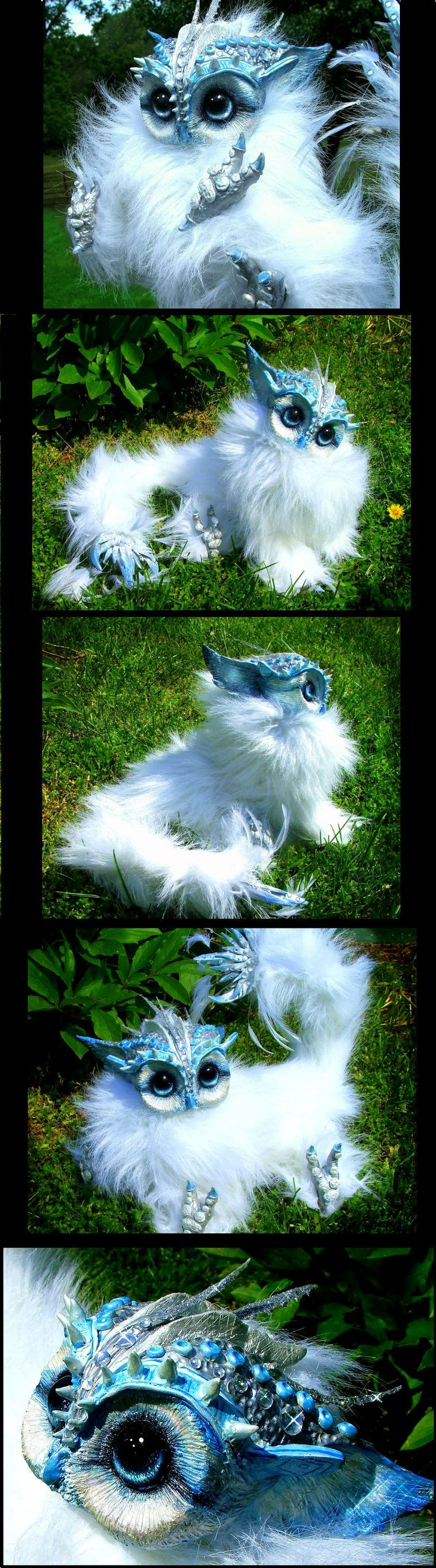 Posable Baby Owl Creature by Wood-Splitter-Lee on deviantART