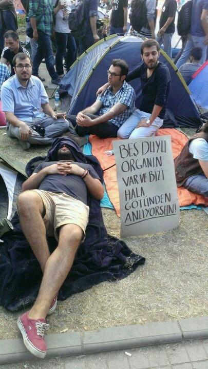 #occupygezi #turkey #occupytaksim #direngeziparkı