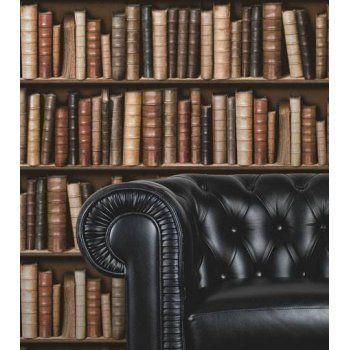 I Love Wallpaper™ Book Shelf / Book Case Effect Wallpaper (ILW9009) - I Love Wallpaper™ from I love wallpaper UK