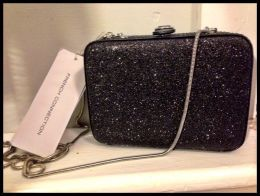 Available @ TrendTrunk.com French Connection Twinkle Twinkle Sparkle Bag Box Clutch - Black NWT!! Bags. By French Connection Twinkle Twinkle Sparkle Bag Box Clutch - Black NWT!!. Only $31.99!