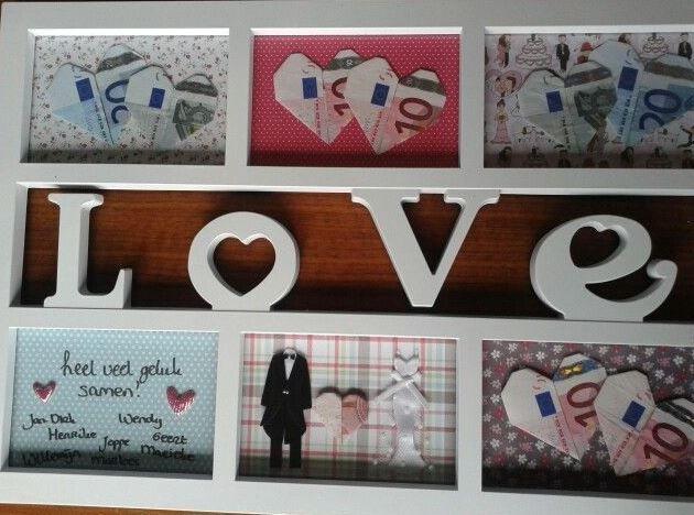 geld als cadeau in kader #geldgeschenk www.cadeaumandje.be