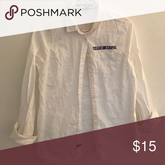 United States Polo Association Button Down United States Polo Association Button Down, Size M (runs small), Never Worn United State Polo Association Tops Button Down Shirts