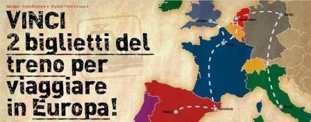 Concorso Hostelbookers: vinci due biglietti del treno per viaggiare in Europa