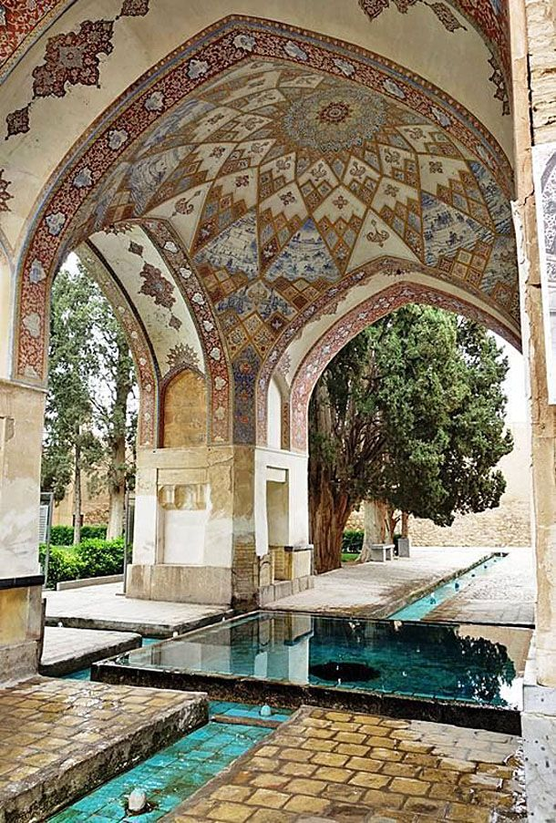 THE PLEASANT PERSIAN GARDEN: FIN GARDEN (BAGH-E FIN)  The oldest standing Persian garden in all of Iran, Bagh-e Fin is a lush botanical oasis surrounded by Kashan's harsh desert landscape is filled with a plethora of fruit trees, giant 500 year old Cyprus trees and exotic plants and flowers! Read the full article here: http://goingiran.com/fin-garden-bagh-e-fin/  @goingIRAN Your Travel Companion  #traveltheworld #travelbug #travelblog #travelphoto #travellife #travelpics #travelawesome