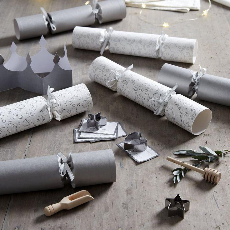 Luxury Crackers - Set of 6 | The White Company