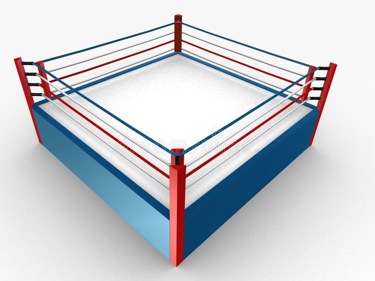Boxing Ring 3d Rendered Illustration Of A Box Ring And A Little Character Sponsored Paid Ad Ring C Photography Boxes Boxing Rings Stock Illustration