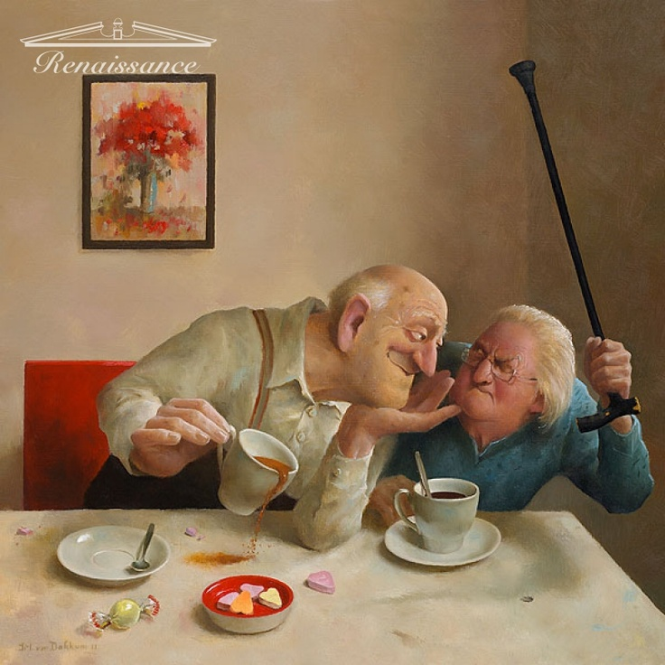 Marius van Dokkum - Unrequited love