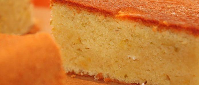 цитрусовый бисквит
