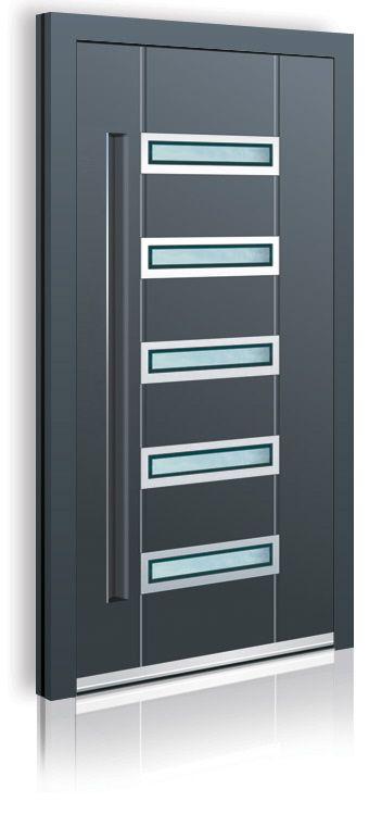 Die neuen Türen-Trends 2014: Haustüren mit Griffmulde ab sofort in unserem Online-Shop www.1001-Tuer.de erhältlich.