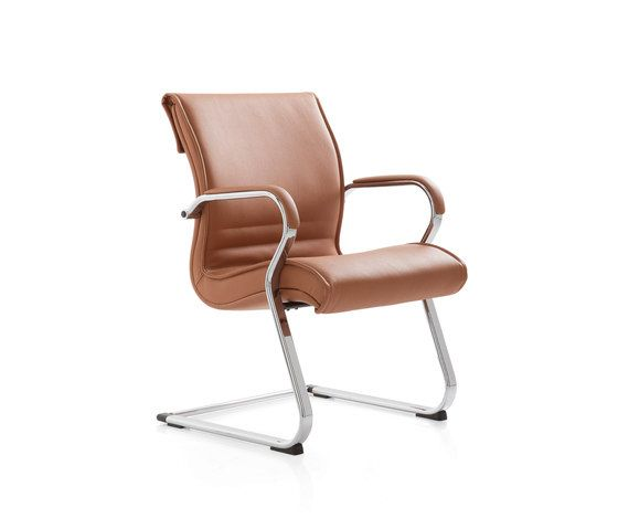 Pulchra by Emmegi | Visitors chairs / Side chairs