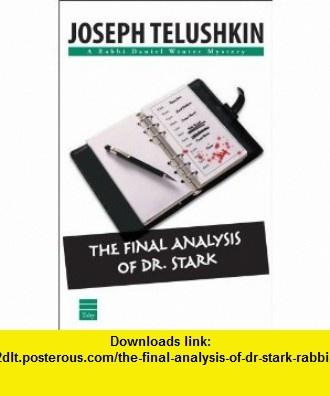 9 best downloads book images on pinterest the final analysis of dr stark rabbi daniel winter mysteries 9781592641086 fandeluxe Epub