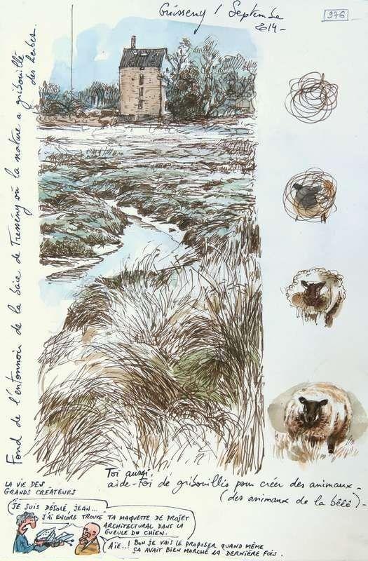 Une Bretagne par les Contours / Guissény de Yann LESACHER