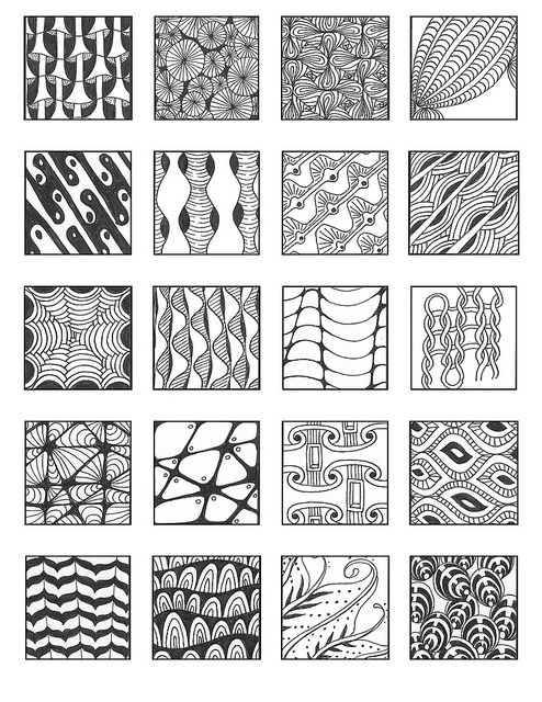 ZENTANGLE PATTERNS noncat 14 | Flickr - Photo Sharing!