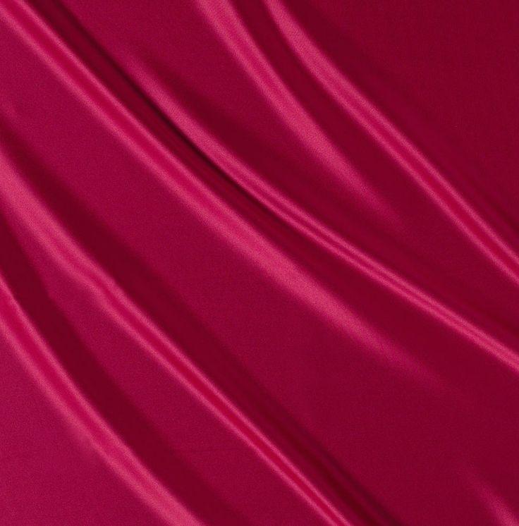Rouge Satin Linen