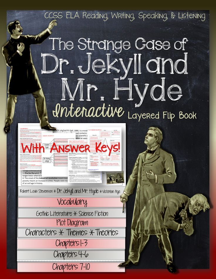 a review of the book dr jekyll and mr hyde The conclusion of the book reveals the now universally known revelation that dr jekyll and mr hyde inhabit the same body dr jekyll is the picture of social class and professional excellence, while mr hyde is the embodiment of jekyll's otherwise hidden evil nature.