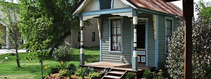 @Stephanie Moore, this made me think of you, since your ideal place would be tiny, and quaint. :) This may help drive your fixation with small spaces. Enjoy.