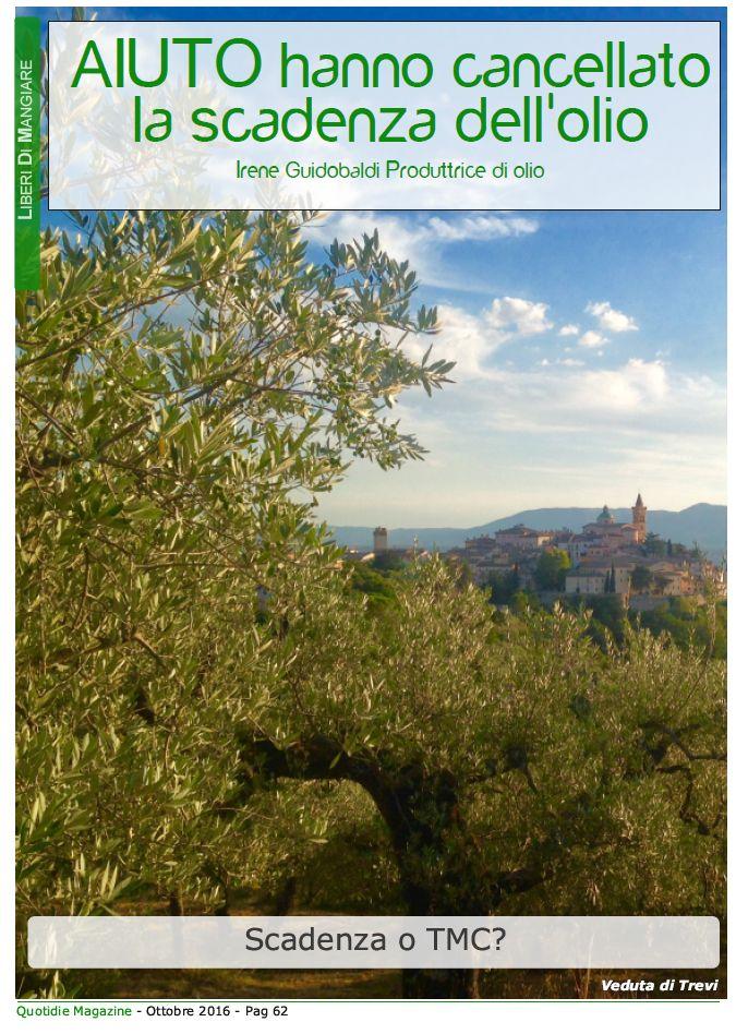 Leggi l'articolo completo su Quotidie Magazine a questo link www.quotidiemagaz... previa registrazione gratuita. Lo trovi nella sezione ARGOMENTI - LIBERI DI MANGIARE