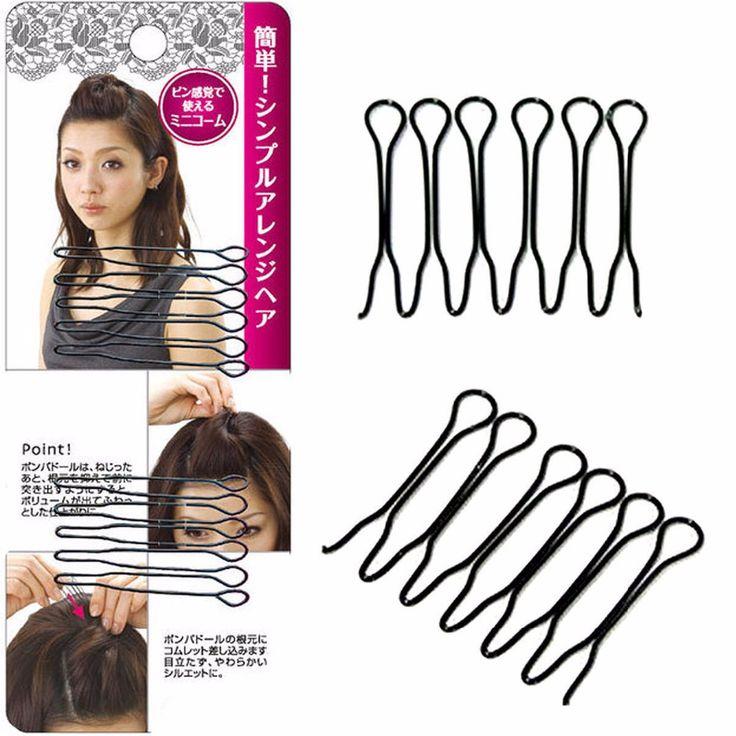 2pcs Women Fashion New Cute Hair Clip Stick Bun Maker Hair Accessories Braid Tool Lady Headwear Barrettes prendedor de cabelo