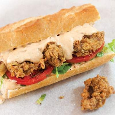 Fried Oyster Po' Boy: Oyster Po Boys, Louisiana Oysters, Cook ...