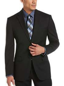 Awearness Kenneth Cole Black Slim Fit Suit Separates Coat