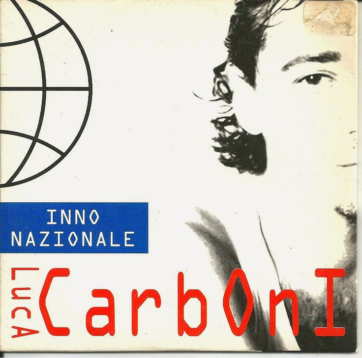MEDUSABOY: Luca Carboni - Inno nazionale ( cd single promozio...