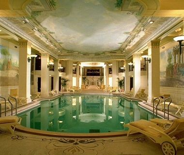 The Ritz, Paris, France ~ An institution since 1898, the lavish, opulent Ritz—is one of Paris's leading hotels The world's first hotel to have a private bath in every room, and everyone from Edward VII to Coco Chanel has called it home Swan-shaped, gold-plated faucets grace the tubs; a surfeit of period Louis XV, Louis XVI, and Empire furniture fills the rooms; and thousands of euros worth of flowers scent the air each week. Traditional white-glove service, and a Roman-style pool