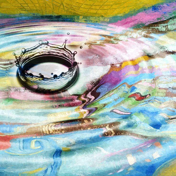 Wall Art Drop 32 X Handmade Original Oil Painting On Canvas