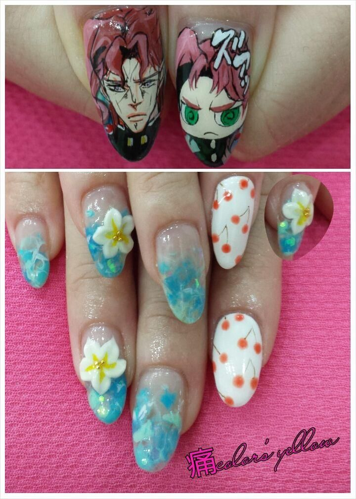 Character Design Nail Art : Best images about character nail art on pinterest