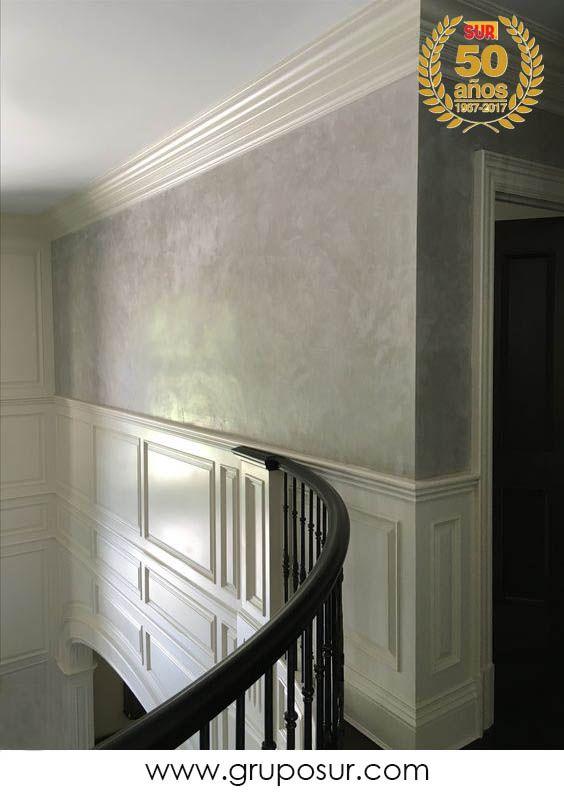 18 best acabados de paredes images on pinterest painted for Decoracion de paredes con pintura