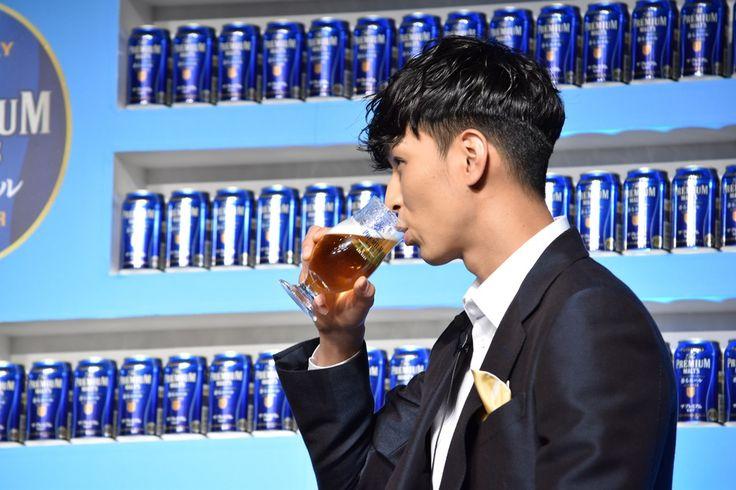 恋バナにも「照れっ」♡飲める男・松田翔太×プレモルのイベントレポその8