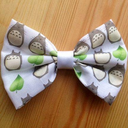 My Neighbor Totoro Inspired Hair Bow // by LittleCornerCreation, $6.75