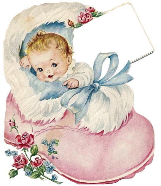 Старые открытки с новорожденными, открытки марта годов