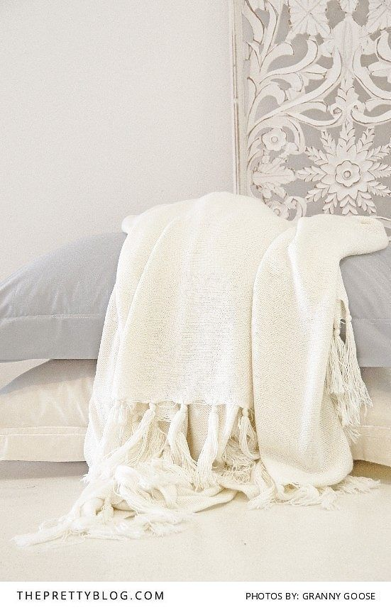 Beautiful linens from Granny Goose | Home Decor |  http://www.theprettyblog.com/house/utm_sourceprettyblogutm_mediumfeatureutm_campaigngrannygoose/