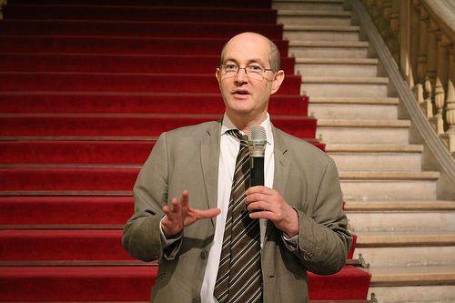 Patrick Weil - Bibliothèques Sans Frontières - Ideas Box à la Mairie du 10e