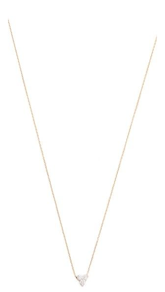 Adina Reyter Diamond Cluster Necklace | SHOPBOP