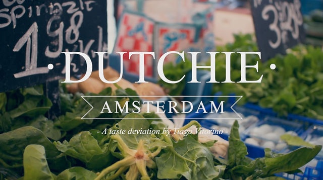 Dutchie Amsterdam is a food project by Tiago Vitorino, this is a small teaser of a tasting day.Filmed and edited by Luis MonteiroCamera:Sony SLT A77Lens:Sigma 30mm f1.4Music:
