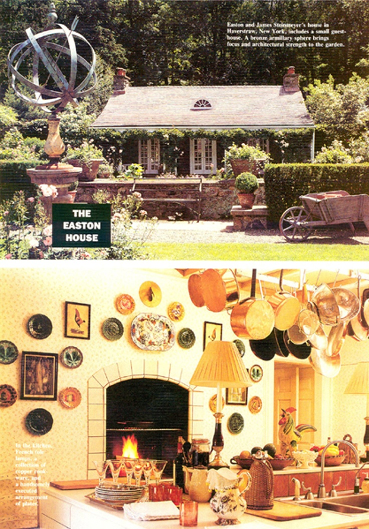 David Easton's guest house