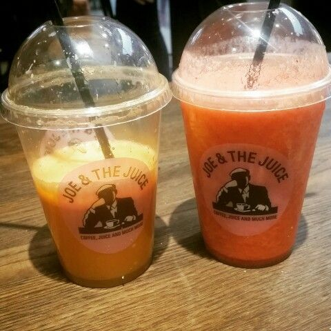 Fresh juice at Joe & The Juice
