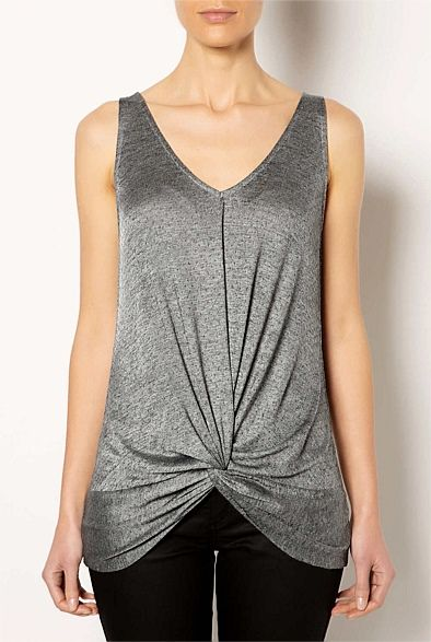 #witcherywishlist Studded Twist Front Top | Women's Clothing by Witchery Online