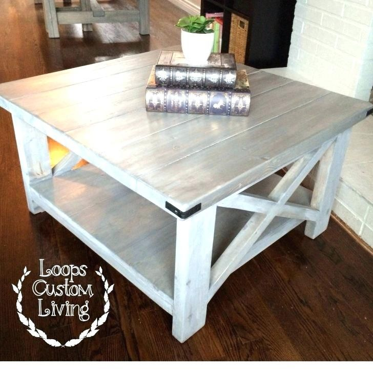 Oak Coffee Table Set White Washed Grey Industrial Square Coffee Table Grey Velvet Ottoman Coffee T Coffee Table Farmhouse Coffee Table Wood Coffee Table Square