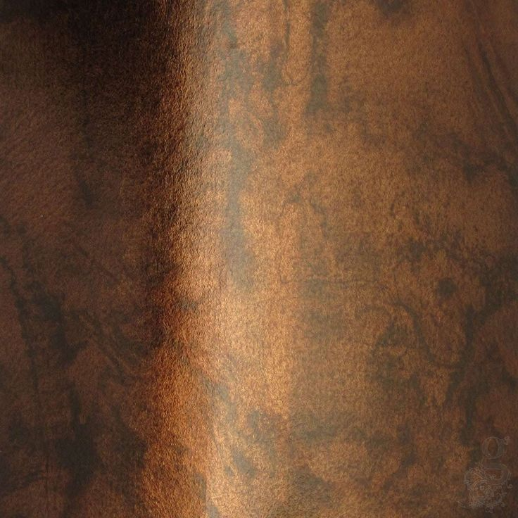 Coloured Loose Silver Leaf - Marbled Blackened Bronze