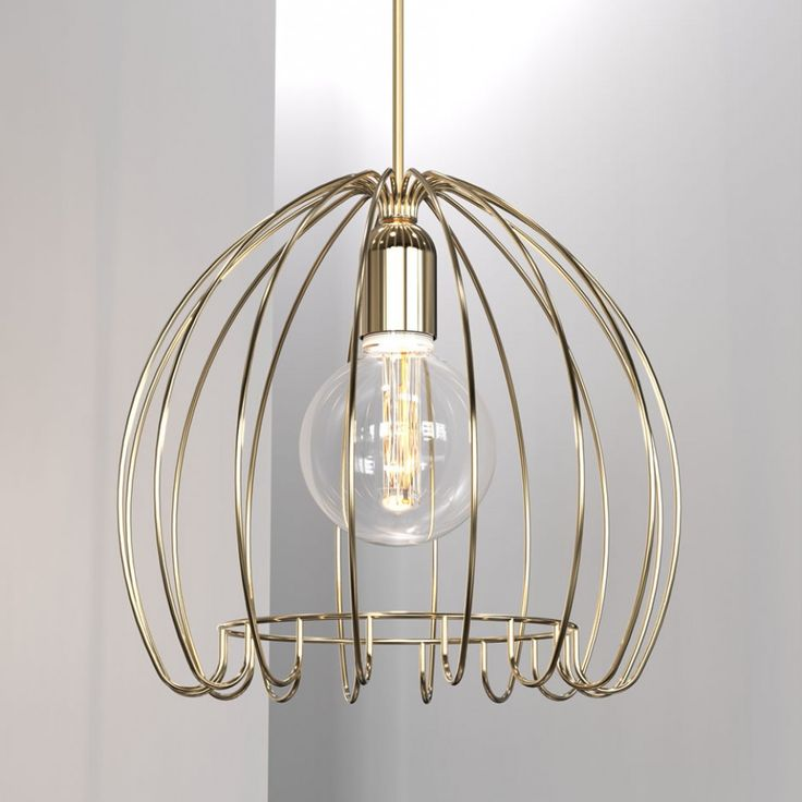 17 Best Images About Cage Pendant Lights On Pinterest