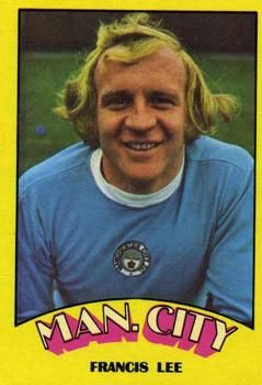 1974-75 A&BC Gum #131 Francis Lee Front