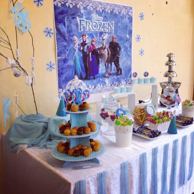 FROZEN DISNEY THEME Birthday Party Ideas