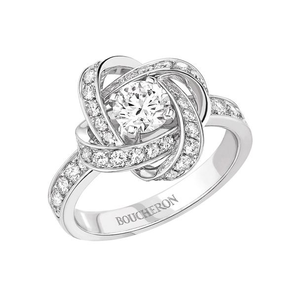 ピヴォワンヌ - BOUCHERON(ブシュロン)の婚約指輪(エンゲージメントリング)インポートのエンゲージリング・婚約指輪まとめ一覧♡