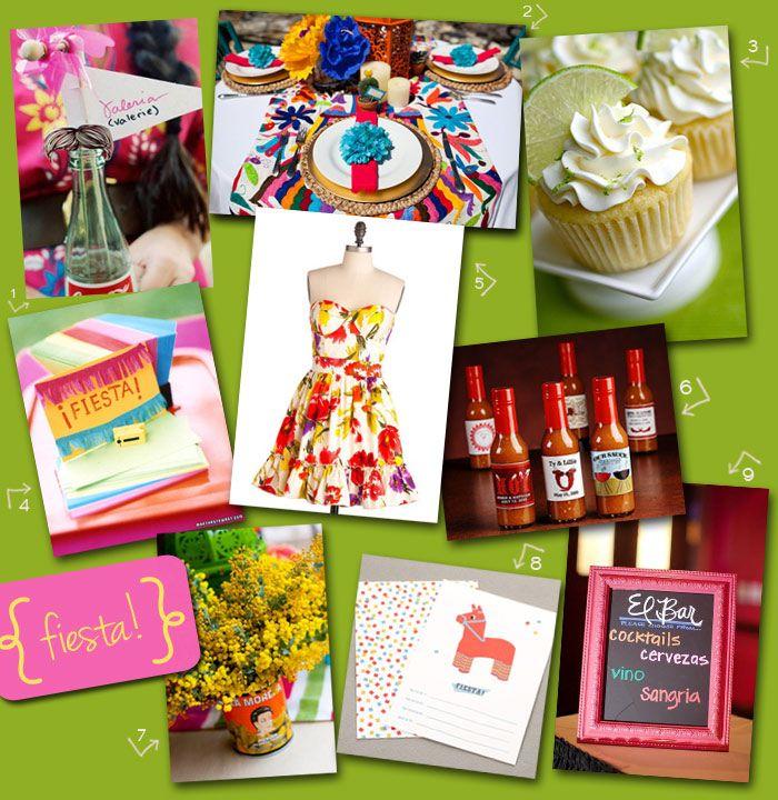 Perfect Party Theme Fiesta Favor Affair Blog Mexican FiestaWedding ShowersInspiration